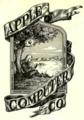 Apple社の創業時のロゴマーク