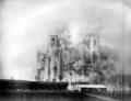 1931年爆破される救世主ハリストス大聖堂