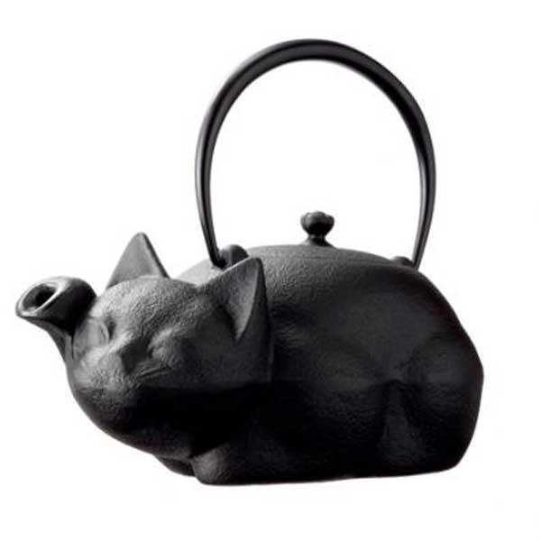 「ネコ型」鉄瓶