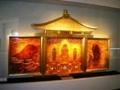 琥珀モザイク「金色堂」
