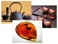岩手県の工芸品「南部鉄器」、「秀衡塗」、そして「久慈琥珀」