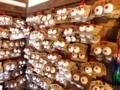 「軽部神社」の通称「おっぱい絵馬」