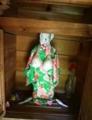 衣替えした岩泉町「若宮神社の乳神様」