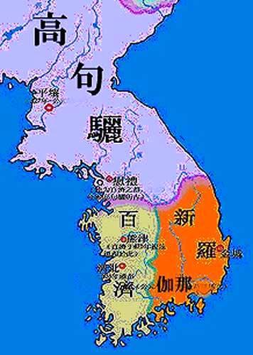 5世紀の朝鮮半島