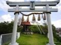 天王寺公園の上に鎮座する「彌榮神社」