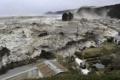 泉増寺境内から撮影した「津波」