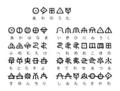 神代文字(あわうた)