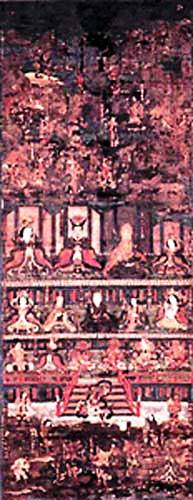 熊野垂迹神曼荼羅図(甲本)