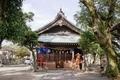 「波折神社」拝殿