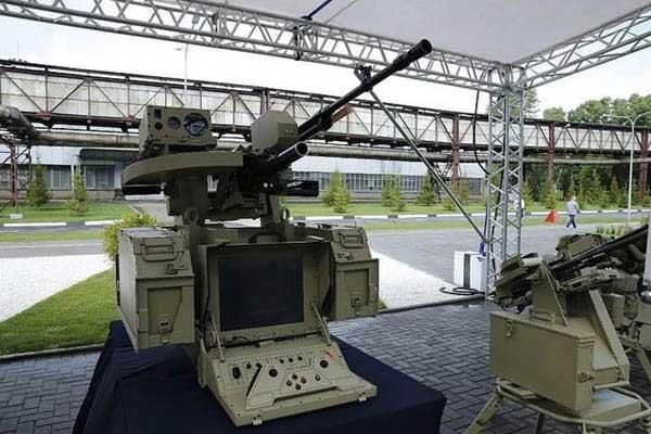 カラシニコフ「AI搭載自律型ロボットライフル」