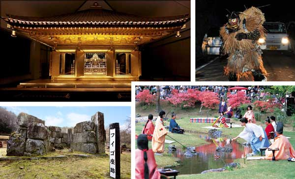 岩手の世界遺産と無形文化遺産