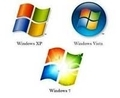 Windows XP、Vista,そして7