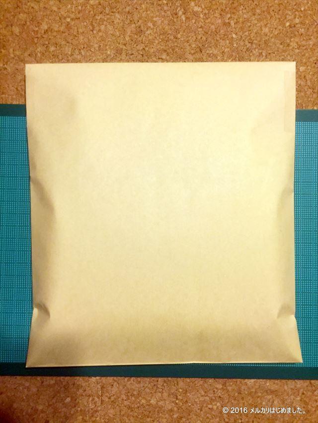 封筒梱包の完成
