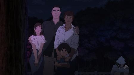 武藤家と右端にいる古賀先輩