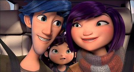 オーウェンとゾーイ夫妻と子供