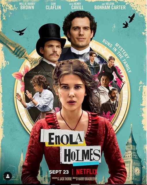 エノーラホームズの事件簿
