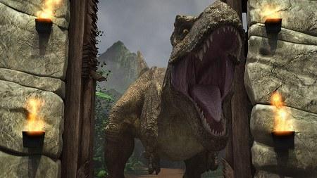 恐竜だぜ!!