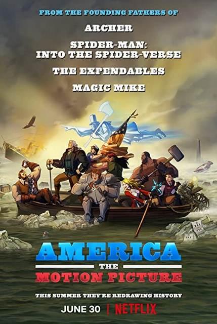 悪ノリ過ぎて笑うアメリカン映画…Netflix映画アメリカTHE MOVIE(感想)