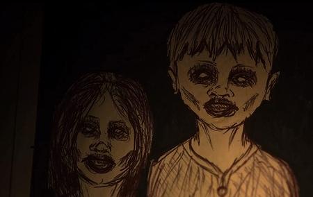 井戸の中の子供たち