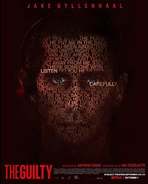 感想評価)音声のみで想像をかき立てる良作サスペンス…Netflix映画THE GUILTY/ギルティ(感想)