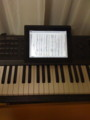 iPad は楽譜