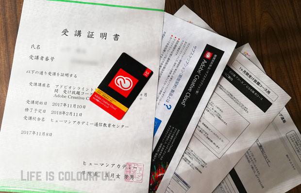 Adobe CC ライセンスカード