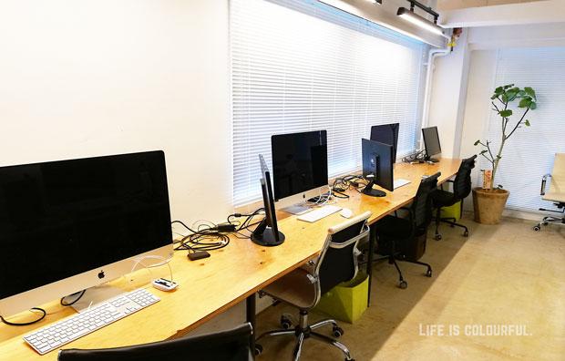 LIGスクールの教室