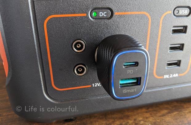 Jackeryポータブル電源+USB-C