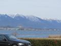 琵琶湖大橋と蓬莱山