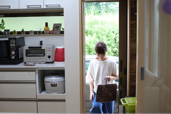 キッチン:勝手口