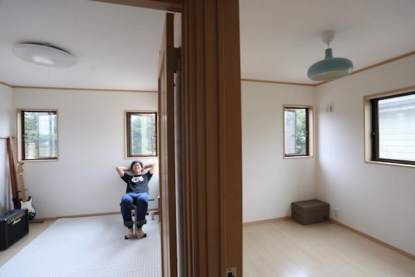 洋室:子供部屋
