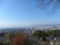 [東山から京都を望む]