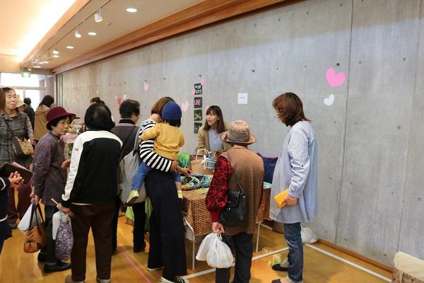 関市武儀生涯学習センター学メイドのブース