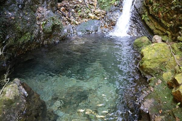 乙女滝のキレイすぎる水質