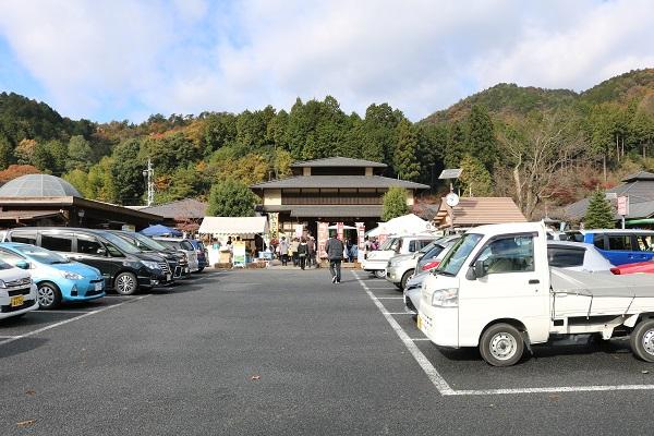 道の駅平成駐車場