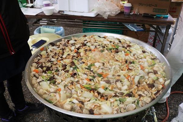グッツグツの椎茸鍋