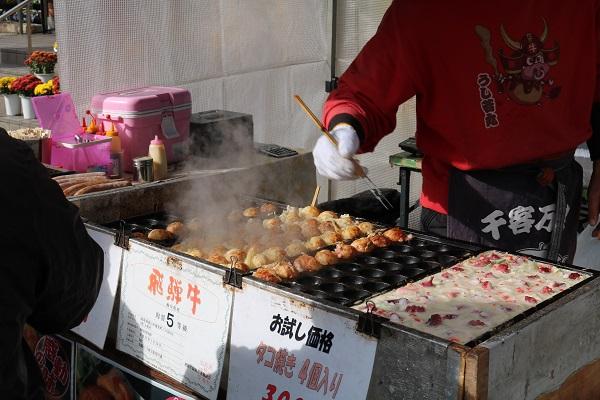 椎茸まつりたこ焼き