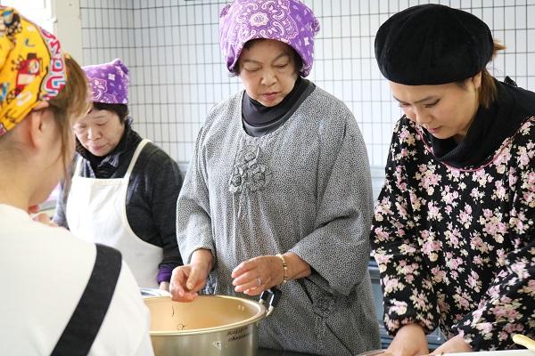 馬渕美智子先生のお料理チェック