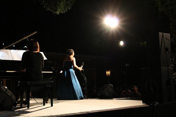 ソプラノ歌手渡辺美季さんの歌声