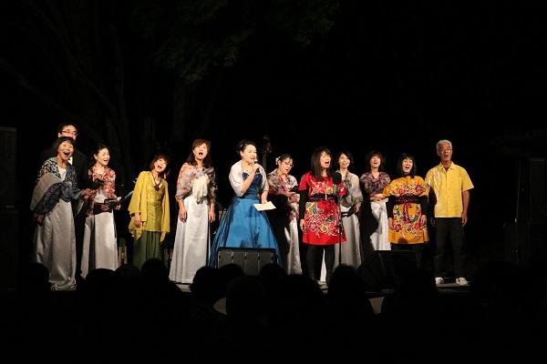 ムーンライトコンサートin高澤2017合唱