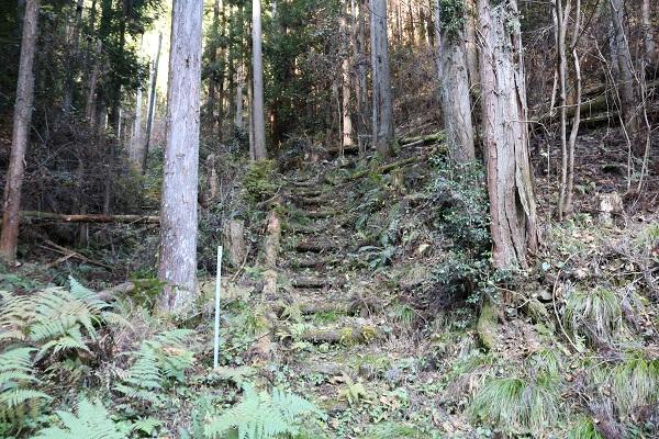 平成山登山スタート