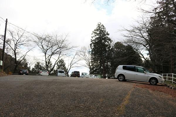 高澤観音最寄りの駐車場