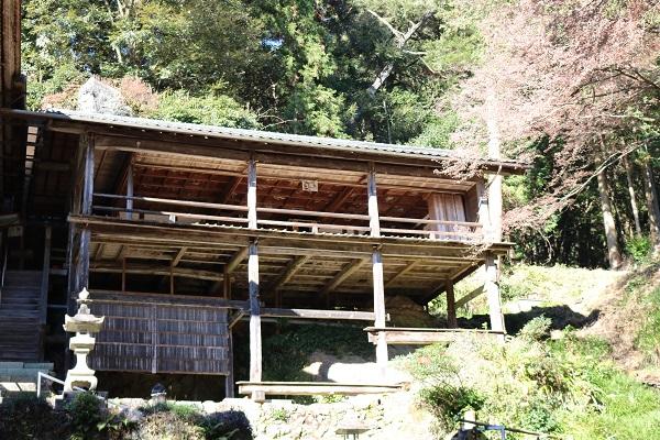 第3日曜日に開放される高澤観音の籠堂