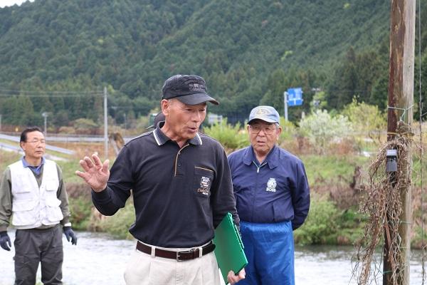 津保川漁業協同組合富之保支部長