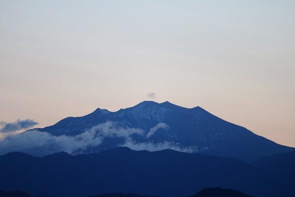 早朝の平成山からの眺望は一味違う