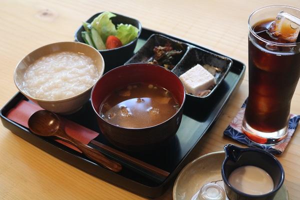 羽釜炊きご飯のおかゆ