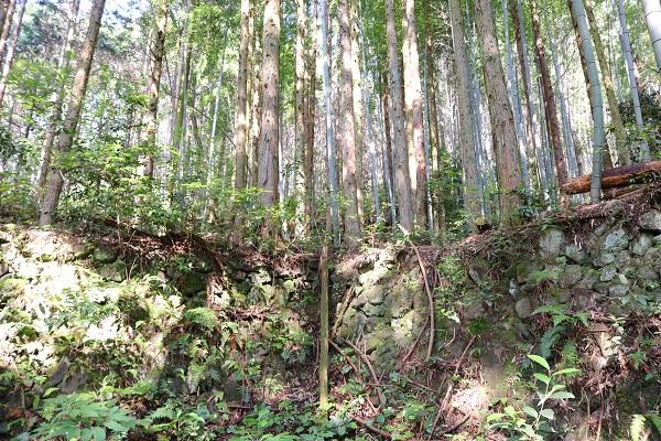 森勝五郎の屋敷跡