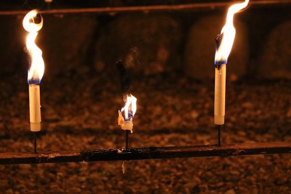 日龍峯寺(高澤観音)のローソク祭り
