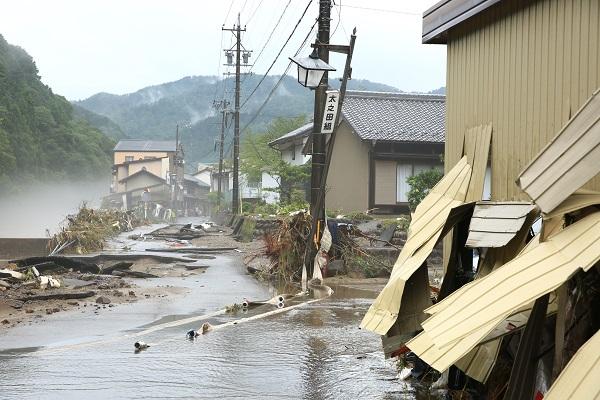 上之保7月豪雨災害