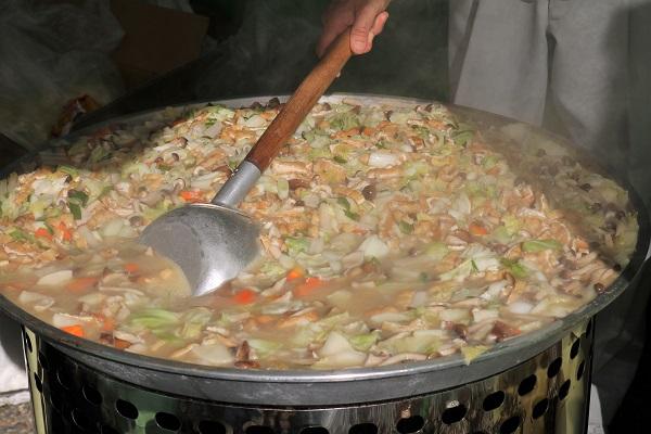 道の駅平成の椎茸鍋